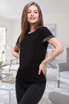 Новинка: черная женская футболка Brosko